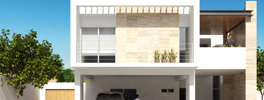 Fachada Casa Habitación Scalable